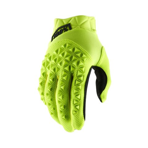 AIRMATIC 100% Glove Fluo Yellow/Black Youth